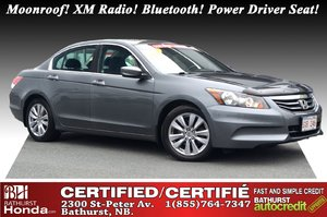 2012 Honda Accord Sedan EX Moonroof! XM Radio! Bluetooth! Power Driver Seat!