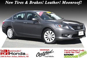 2015 Honda Accord Sedan EX-L New Tires & Brakes! Leather! Moonroof! Heated Front and Rear Seats! Cameras!