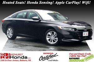2018 Honda Accord Sedan LX Heated Seats! Honda Sensing! Adaptive Cruise Control! Apple CarPlay!