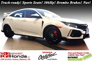 2018 Honda Civic Hatchback Type R - Low Km's! Low Km's! Mint! Track-ready! Sports Seats! 306Hp! Brembo Brakes! Nav! Premium Audio System!