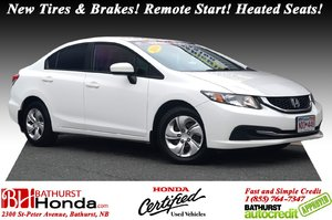 2014 Honda Civic Sedan LX New Tires & Brakes! Remote Start! Heated Seats! Bluetooth! Power Options!