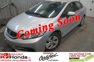 2015 Honda Civic Sedan LX Heated Seats! Backup Camera! Bluetooth!