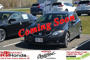 2015 Honda Civic Sedan Si 205hp! Nav! Moonroof! XM Radio! Backup, Lane Camera! Spoiler!
