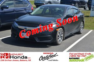 2016 Honda Civic Sedan EX Auto Start! Moonroof! Heated Seats! Camera!