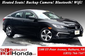 2019 Honda Civic Sedan LX $67/Weekly! Heated Seats! Backup Camera! Bluetooth! Wifi! Apple CarPlay!