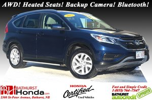 2015 Honda CR-V SE - AWD AWD! Heated Seats! Backup Camera! Bluetooth! Push Start!