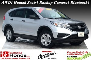 2016 Honda CR-V LX - AWD AWD! Heated Seats! Backup Camera! Bluetooth!
