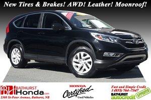 2016 Honda CR-V EX-L New Tires & Brakes! AWD! Leather! Moonroof! Cameras!