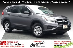 2016 Honda CR-V LX - FWD New Tires & Brakes! Auto Start! Heated Seats! Backup Camera! Bluetooth!