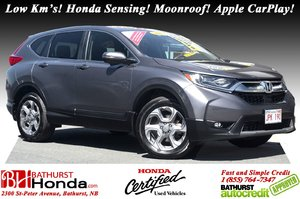 2018 Honda CR-V EX - Low Km's Low Km's! Honda Sensing! Power Moonroof! Apple CarPlay / Android Auto!