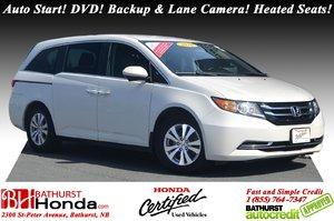 2016 Honda Odyssey EX - RES 8 Passengers! Auto Start! DVD! Backup & Lane Camera! Heated Seats!