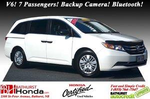 2016 Honda Odyssey LX 7yr/160,000 Warranty! V6! 7 Passengers! Backup Camera! Bluetooth!