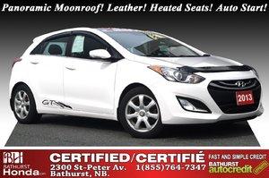 2013 Hyundai Elantra GT Panoramic Moonroof! Leather! Heated Seats! Auto Start!