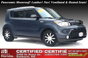 2015 Kia Soul SX Luxury New Brakes! Panoramic Moonroof! Leather! Nav! Ventilated & Heated Seats!