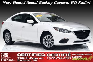 2014 Mazda Mazda3 GS-SKY Nav! Heated Seats! Backup Camera! HD Radio! Bluetooth!