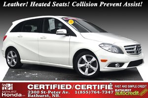 2014 Mercedes-Benz B-Class B 250 Sports Tourer Leather! Heated Seats! Attention Assist! Collision Prevent Assist!
