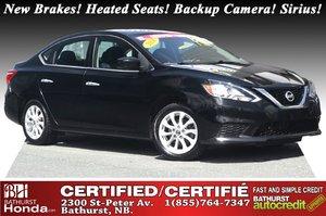 2016 Nissan Sentra SV New Brakes! Heated Seats! Backup Camera! Sirius Radio! Bluetooth!