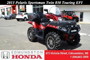 2013 Polaris Sportsman Twin 850 Touring EFI Winch! Rear Seat! Heated Grips! Mag Wheels!