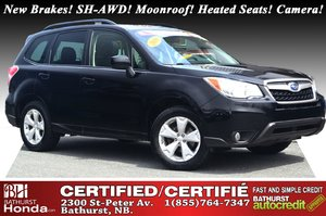 2016 Subaru Forester 2.5i Limited - AWD New Brakes! SH-AWD! Moonroof! Heated Seats! Backup Camera! Satellite Radio!