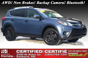 2013 Toyota RAV4 LE - AWD AWD! New Brakes! Backup Camera! Bluetooth! Power Options!