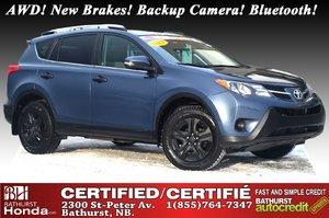 2013 Toyota RAV4 LE - AWD AWD! New Brakes! Backup Camera! Bluetooth! Power Options!