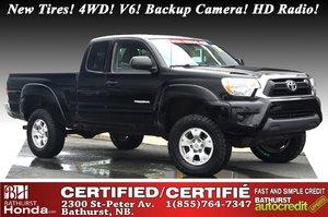 2015 Toyota Tacoma SR5 New Tires! 4WD! V6! Backup Camera! HD Radio! Bluetooth!