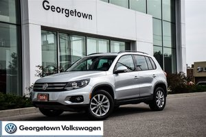 2014 Volkswagen Tiguan COMFORTLINE   PANORAMIC   LEATHERETTE   AWD