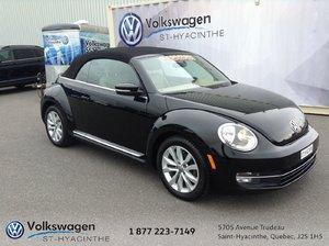 Volkswagen Beetle Convertible HIGHLIN+DÉCAPOTABLE+GPS+FENDER+CUIR 2013 PROFITEZ DES DERNIÈRES BELLE JOURNÉES AVEC VOTRE BEETLE CONVERTIBLE