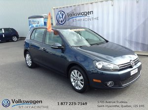 2013 Volkswagen Golf **TDI**COMFORTLINE+TOIT OUVRANT+SIÈGES CHAUFFANTS