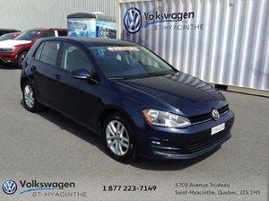 Volkswagen Golf **TDI**COMFORTLINE**CUIR**TOIT**SEULEMENT 39020 KM 2015 FINANCEMENT 0% JUSQU'À 48 MOIS