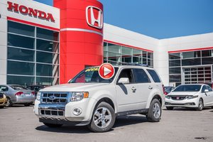 2011 Ford ESCAPE LIMITED 4WD Limited 92244B BLANC