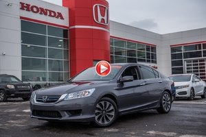 2014 Honda ACCORD HYBRID TOURING GARANTIE 10 ANS/200,000 KILOMETRES* S2609A  GRIS
