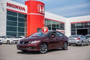 2015 Honda CIVIC SDN EX GARANTIE 10ANS/200,000 KILOMETRES* P4751   BOURGOGNE