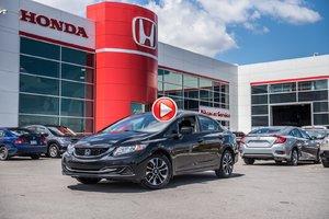 2015 Honda CIVIC SDN EX GARANTIE 10 ANS/200,000 KILOMETRES * 83496B TQ NOIR