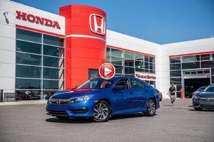 2016 Honda CIVIC SDN EX GARANTIE LALLIER 10ANS/200,000 KILOMETRES* EXTRA PROPRE !