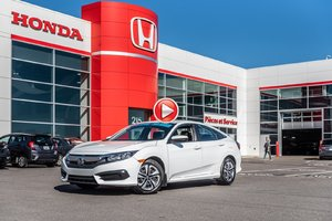2016 Honda CIVIC SDN LX GARANTIE LALLIER DE 10 ANS OU 200,000KM MOTOPROPUL P4832  BLANC