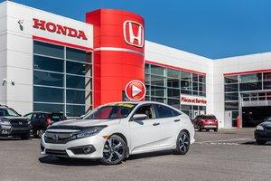 2016 Honda CIVIC SDN TOURING GARANTIE LALLIER HONDA MOTOPROPULSEUR 10 ANS OU 20