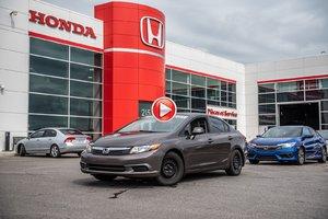 2012 Honda Civic Sdn EX-L  NAVIGATION 93019A  BRUN