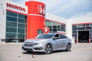 2016 Honda CIVIC SDN EX-T GARANTIE 10ANS/200,000 KILOMETRES* P4797  ARGENT
