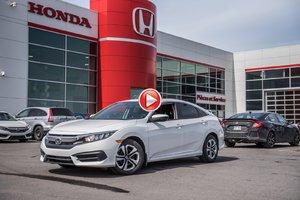 2017 Honda CIVIC SDN LX GARANTIE 10 ANS/200,000 KILOMETRES*