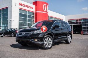 2014 Honda CR-V EX 2WD GARANTIE LALLIER 10ANS/200,000 KILOMETRES* S2667A NOIR
