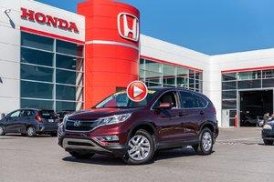 2015 Honda CR-V EX 4WD GARANTIE LALLIER 10ANS/200,000 KILOMETRES*