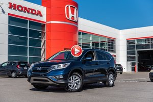2016 Honda CR-V EX 4WD GARANTIE LALLIER HONDA MOTOPROPULSEUR 10 ANS OU 20