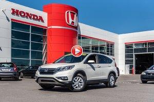 2016 Honda CR-V EX-L AWD GARANTIE LALLIER HONDA MOTOPROPULSEUR 10 ANS OU 20