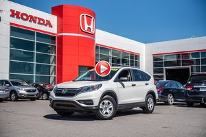 2015 Honda CR-V LX 2WD GARANTIE 10ANS/200,000 KILOMETRES* P4738   BLANC