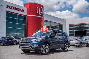 2015 Honda CR-V touring AWD GARANTIE 10ANS/200,000 KILOMETRES* S2635   BLEU