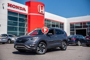 2015 Honda CR-V TOURING GARANTIE 10ANS/200,000 KILOMETRES*