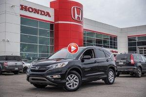 2015 Honda CR-V EX 4WD GARANTIE 10ANS/200,000 KILOMETRES* P4717  NOIR