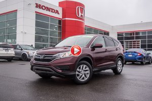 2015 Honda CR-V SE AWD GARANTIE 10ANS/200,000 KILOMETRES* 92659A   ROUGE