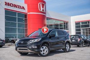 2016 Honda CRV SE AWD SE/GARANTIE 10ANS 200,000 KILOMETRES * P4670   NOIR